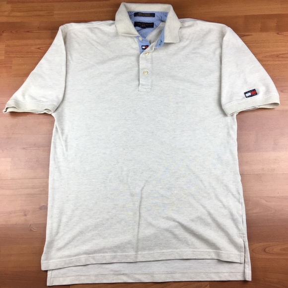 4b614577 Tommy Hilfiger Shirts | Vintage Golf Patch Mens Polo Shirt | Poshmark